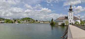 Grodowy Ort, Traunsee Obraz Stock