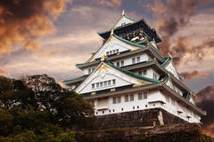 grodowy Osaka Obraz Royalty Free