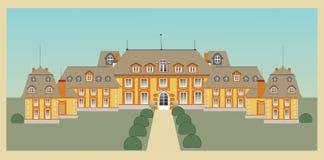 grodowy pałac Fotografia Royalty Free