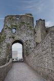 Grodowy podstrzyżenia Gatehouse fotografia royalty free