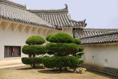 grodowy podwórzowy Himeji Obraz Royalty Free