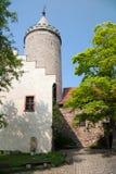 grodowy podwórzowy leuchtenburg Zdjęcia Stock