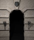 grodowy portal Obraz Royalty Free