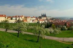 grodowy Prague fotografia stock