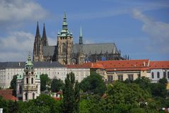 grodowy Prague Zdjęcie Stock