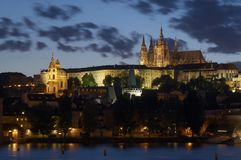 grodowy Prague Obrazy Stock