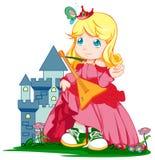 grodowy princess Zdjęcia Royalty Free