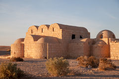 grodowy pustynny Jordan Zdjęcia Royalty Free