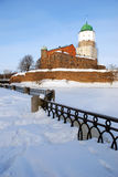 grodowy średniowieczny vyborg Zdjęcie Stock