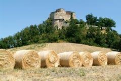Grodowy Rossena na Emilia Romagna zdjęcie royalty free