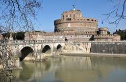 Grodowy San Angelo w Rzym, Włochy Zdjęcie Royalty Free