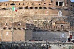 Grodowy San Angelo w Rzym, Włochy Obraz Royalty Free