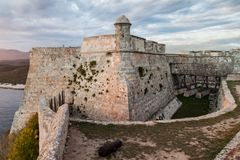Grodowy San Pedro De Los angeles Roca del Morro, Santiago de Kuba, Cu obrazy royalty free