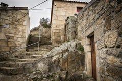 Grodowy schody w Celorico da Beira Obrazy Royalty Free