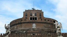 Grodowy St anioł w Rzym, Włochy zdjęcie stock