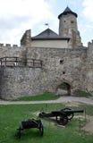 Grodowy Stara Lubovna, Sistani, Europa Obrazy Stock