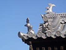 grodowy szczegółu japończyka dach Obraz Stock