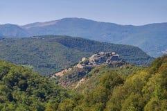 Grodowy Termes w Francja Obraz Royalty Free
