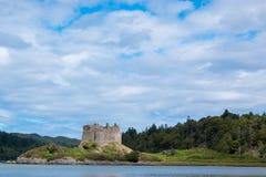 Grodowy Tioram Scotland zlany królestwo Europe fotografia royalty free