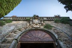Grodowy Włochy Obrazy Royalty Free
