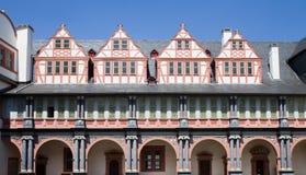 grodowy wewnętrzny kwadratowy weilburg obrazy stock