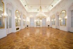 grodowy wnętrza lustra pokój fotografia royalty free