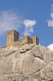 grodowy wzgórze Obrazy Royalty Free