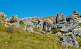 Grodowy wzgórze Fotografia Stock