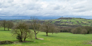Grodowy wzgórze Huddersfield Obrazy Royalty Free