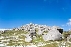 Grodowy wzgórze, Nowa Zelandia Zdjęcie Royalty Free
