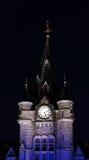 grodowy zegarowy wierza obrazy stock