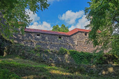 Grodziec Castle - defensive wall. Stock Image