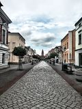 Old Town, Central Alley. Royalty Free Stock Image