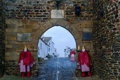 Grodzka brama w Monsaraz Obrazy Royalty Free