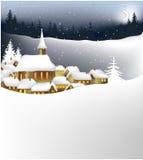 grodzka zima Zdjęcie Royalty Free