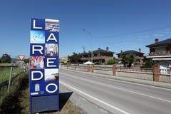 Grodzki Laredo w Cantabria, Hiszpania Obrazy Royalty Free