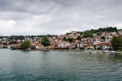 Grodzki Ohrid zdjęcie stock