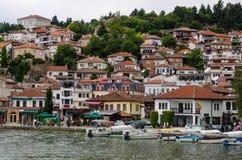 Grodzki Ohrid zdjęcia stock