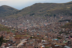 Grodzki Puno, Peru Zdjęcie Stock