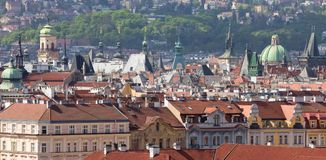grodzkie Prague stare iglicy Obrazy Royalty Free