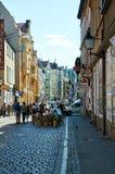 grodzkie stare ulicy poznan Obraz Royalty Free