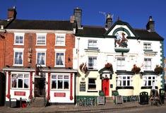 Grodzkiego centre pub i restauracja, Ashbourne obraz royalty free
