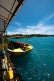 Große Ansicht in Nusa Lembongan Stockbilder