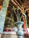 Große Buddha-Statue von Todai-ji, Nara Lizenzfreie Stockfotografie