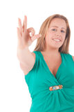 Große Frau Lizenzfreie Stockbilder