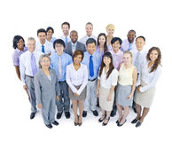 Große Gruppe Geschäftsleute Stockbilder