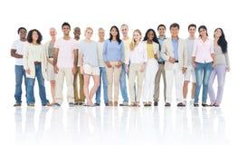 Große Gruppe von Personen Lizenzfreies Stockbild
