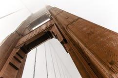 Große rote Brücke Lizenzfreie Stockfotografie