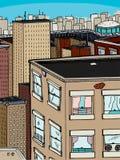 Große Stadt Stockbild