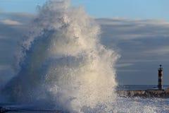 Große Welle Stockfoto